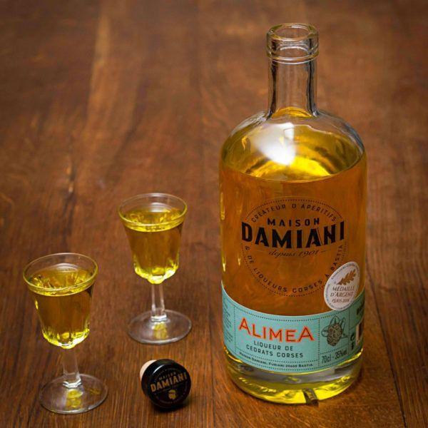 ALIMEA - Liqueur au Cédrat Corse 35 CL 35%-corse